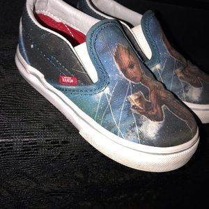 Kid's Vans Groot slip on sneakers